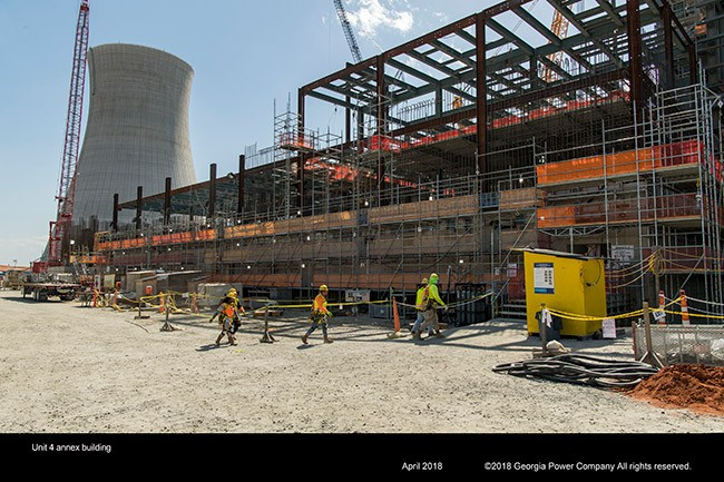 Vogtle Unit 4 annex building