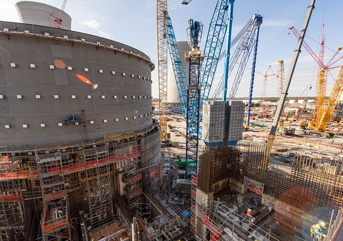New Shield Building Panels Placed at Vogtle Nuclear Expansion