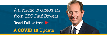 A message to our customers from CEO Paul Bowers