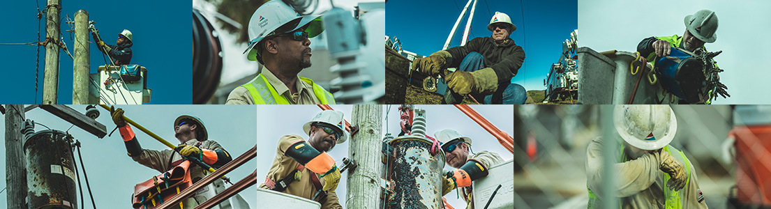 April is Thank a Lineman month
