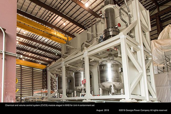 Unit 4 turbine building