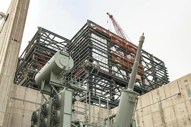 Vogtle 3&4 construction site