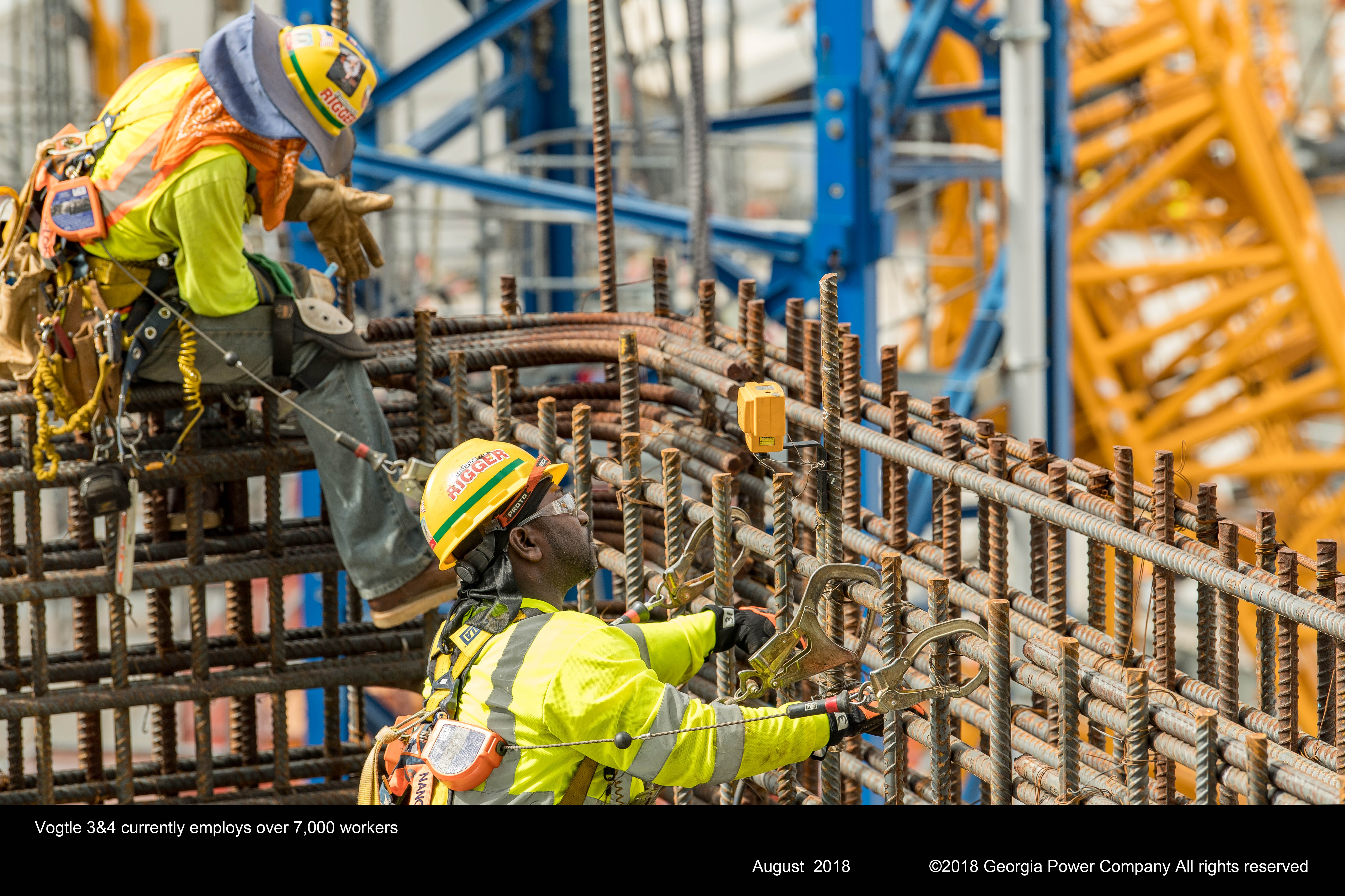 Vogtle 3 and 4 currently employs over 7,000 workers