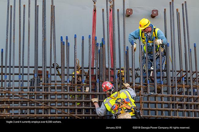 Vogtle construction site