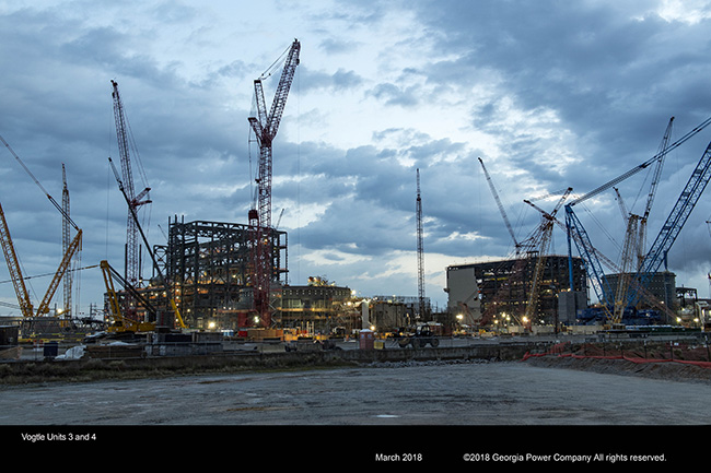 Vogtle Units 3 and 4