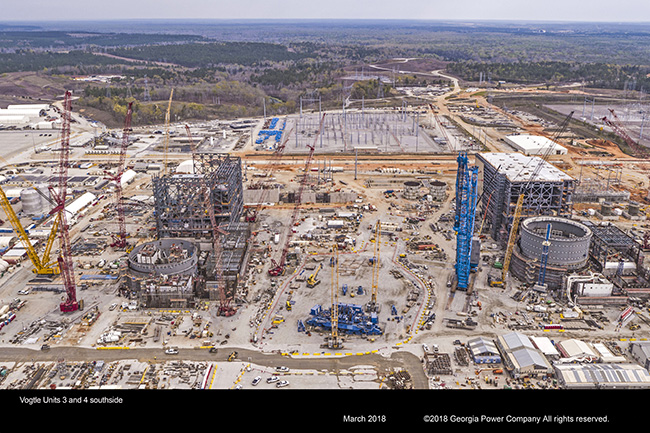 Vogtle Units 3 and 4 southside