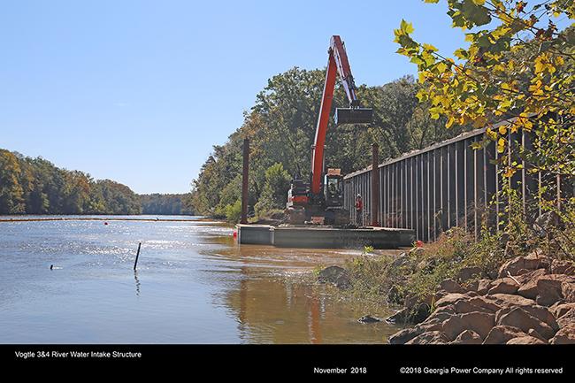 Vogtle 3&4 River Water Intake