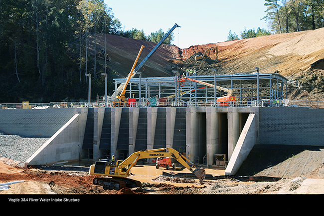 Vogtle 3&4 River Water Intake Structure