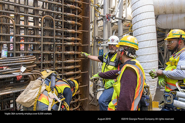 Vogtle 3&4 currently employs over 8,000 workers