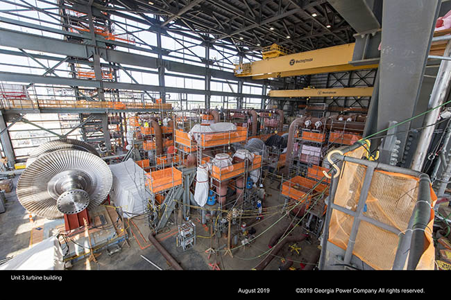 Unit 3 turbine building