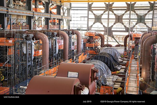 Unit 3 turbine deck