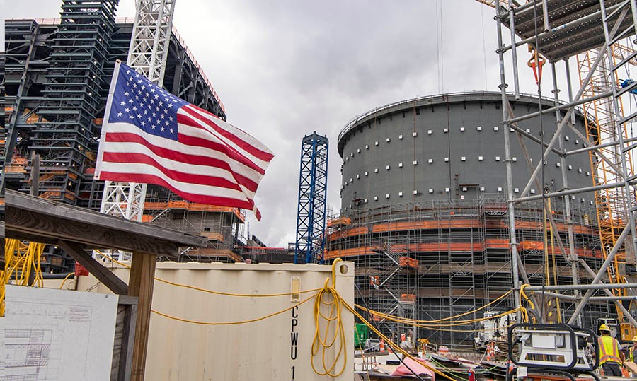 Open Vessel Testing now underway for Vogtle Unit 3
