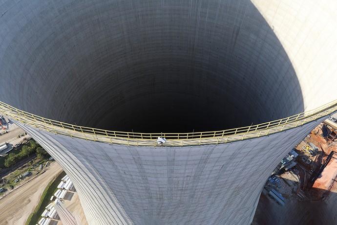 Final major concrete placement completed inside Vogtle Unit 3 containment