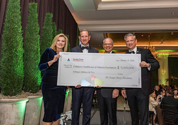 Georgia Power Foundation donates $15 million to Children's  Healthcare of Atlanta's North Druid Hills campus